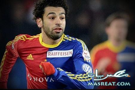انتقال محمد صلاح المصري الى نادي تشيلسي الانجليزي رسمياً اليوم