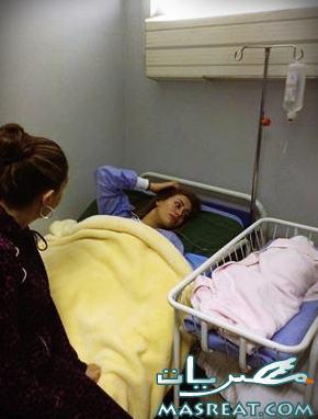 تغريم غادة عبد الرازق وجورية حفيدتها الجديدة من ابنتها روتانا