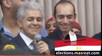 حمدين صباحي مرشح انتخابات الرئاسة المصرية 2014