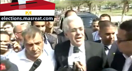 ترشح حمدين صباحي لانتخابات الرئاسة المصرية