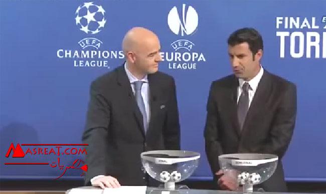 مواعيد مباريات نصف نهائي دوري ابطال اوروبا