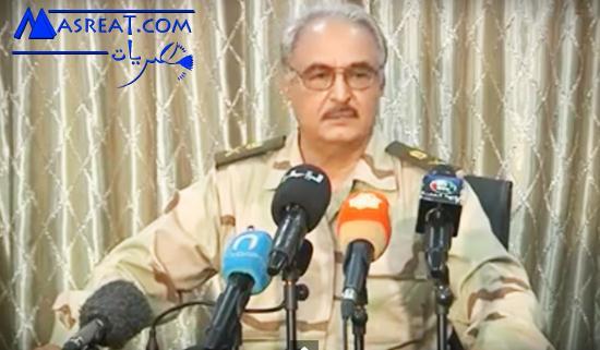 اخر اخبار ليبيا عملية الكرامة بقيادة اللواء خليفة حفتر