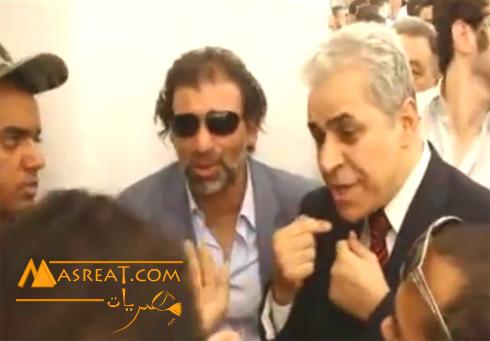 تهنئة حمدين صباحي للسيسي تمت عبر مكالمة مع المخرج خالد يوسف