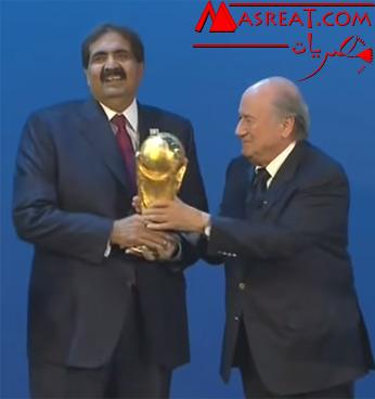 سحب استضافة قطر لمونديال كأس العالم مونديال 2022