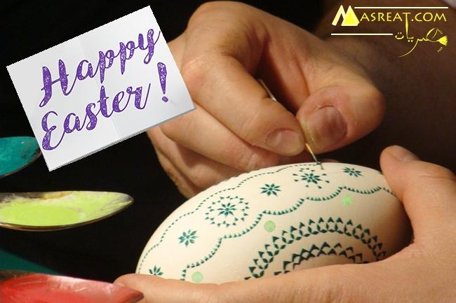 افكار تلوين بيض عيد شم النسيم بالوان طبيعية