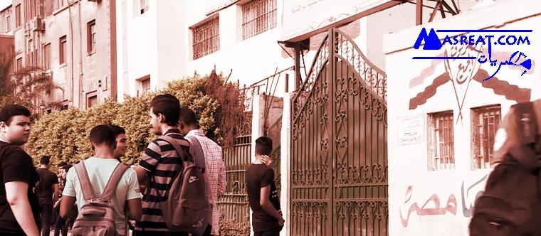 أخبار الثانوية العامة: منع أولياء الامور من الانتظار امام اللجان