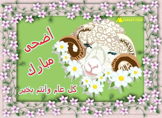صور اضحى مبارك مع رسم خروف العيد