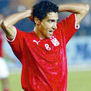 محمد بركات لاعب النادي الاهلي
