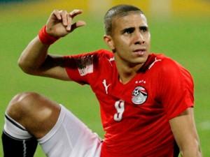 محمد زيدان لاعب منتخب مصر
