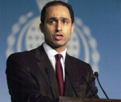 جمال مبارك امين السياسات في الحزب الوطني