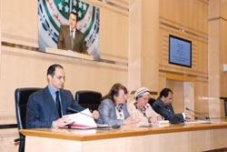 جمال مبارك و تمكين المرأة يحتاج إلي جهد كبير لتغيير الموروث الثقافي للمجتمع
