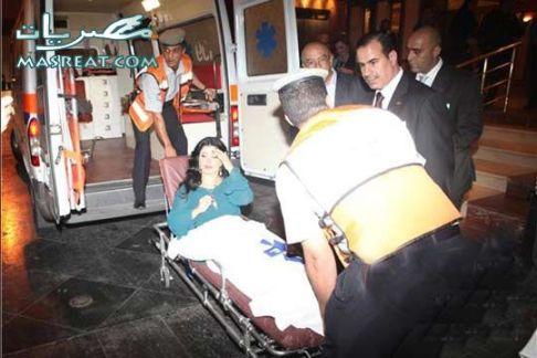 جومانا مراد و سيارة الاسعاف