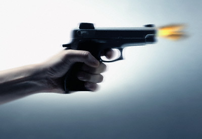 ضابط الشرطة البلطجي اطلق النار على مدرس