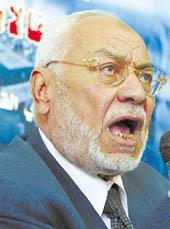 مهدي عاكف المرشد العام للاخوان المسلمين