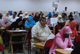 امتحانات كادر المعلمين المصريين بلا مشاكل