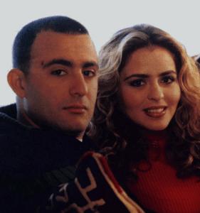 احمد السقا مع زوجته