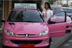 أخيراً في مصر تاكسي للنساء فقط