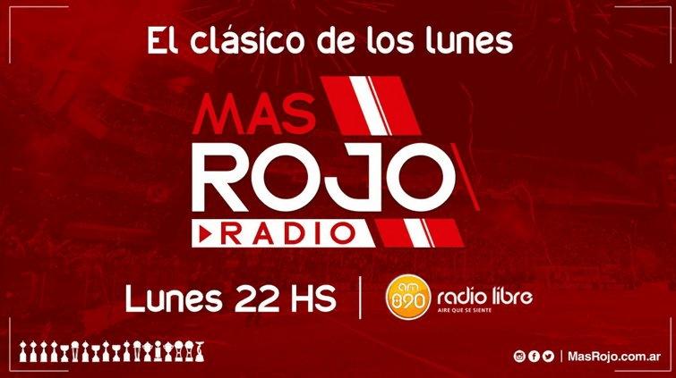 LUNES 22 HS MasRojo Radio