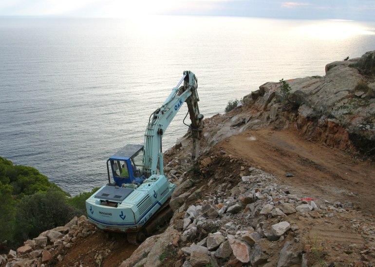 Excavadora giratoria cadenes rh6.1JPG