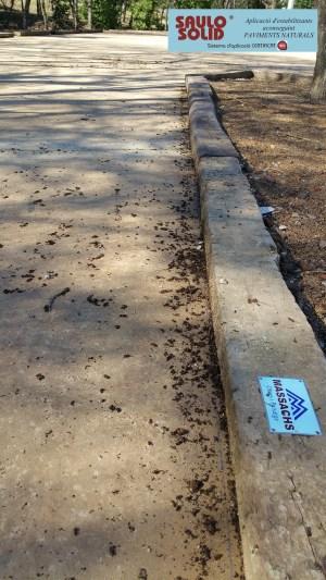 Paviment terra estabilitzada SAULO SOLID Quart07
