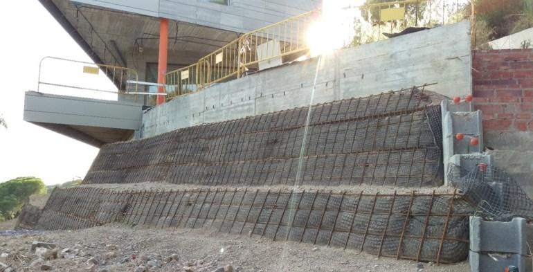 Construcció mur verd 17