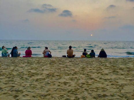 Coucher de solei Inde 2020