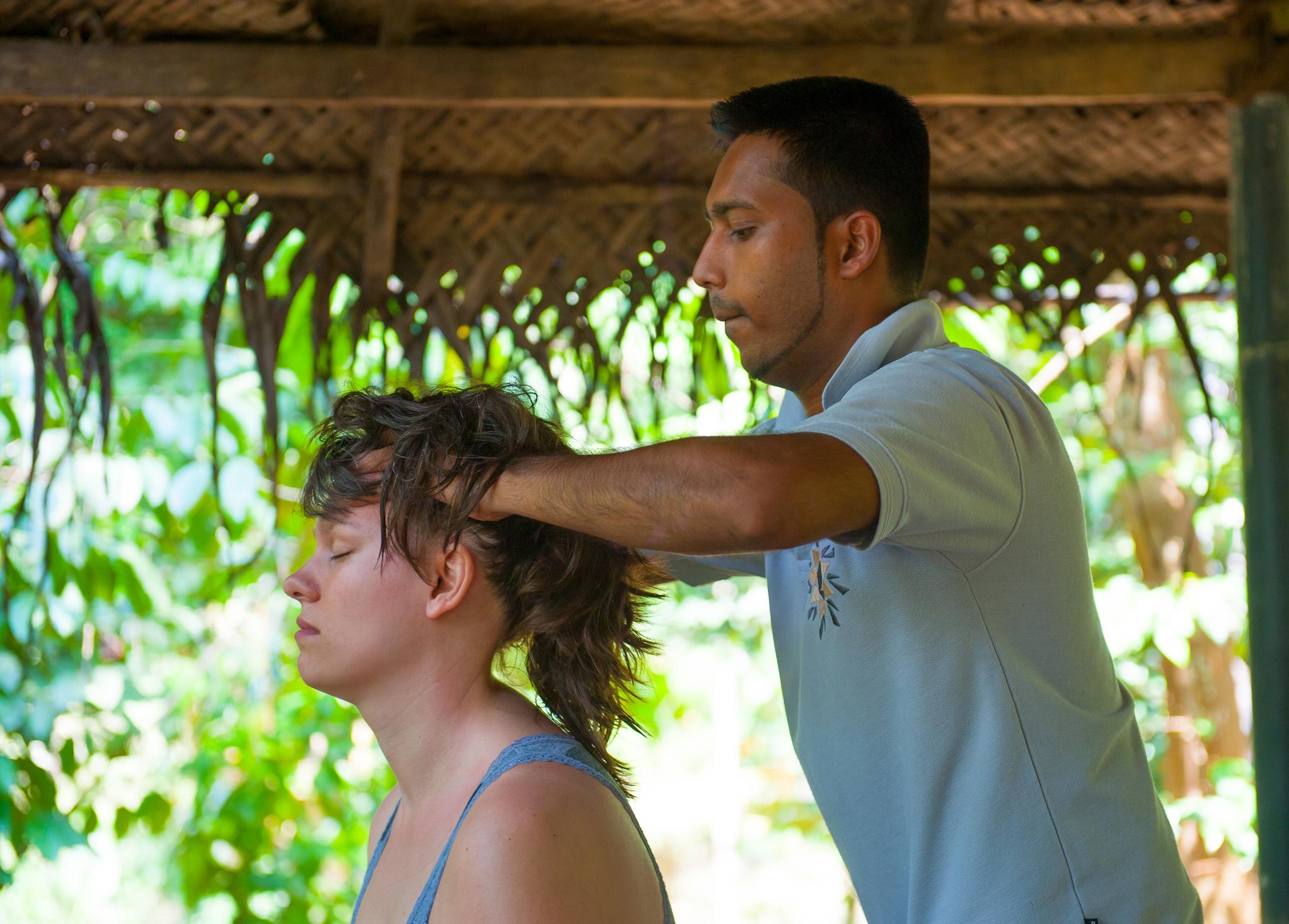 hoofdmassage, ayurvedisch, massage, massagecursus