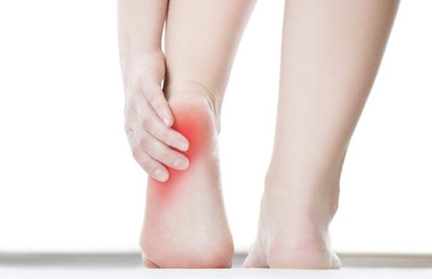 foot pain could be plantar fasciitis or referred pain