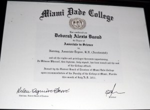 Deborah A. Daoud - Miami-Dade College Associate in Science in Nursing, Associate Degree R.N. (accelerated)