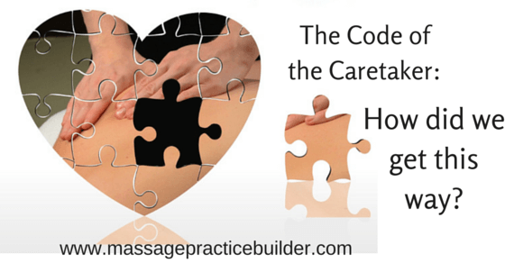 The Code of the Caretaker How did we get this way