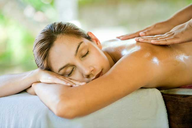 Image result for getting a massage