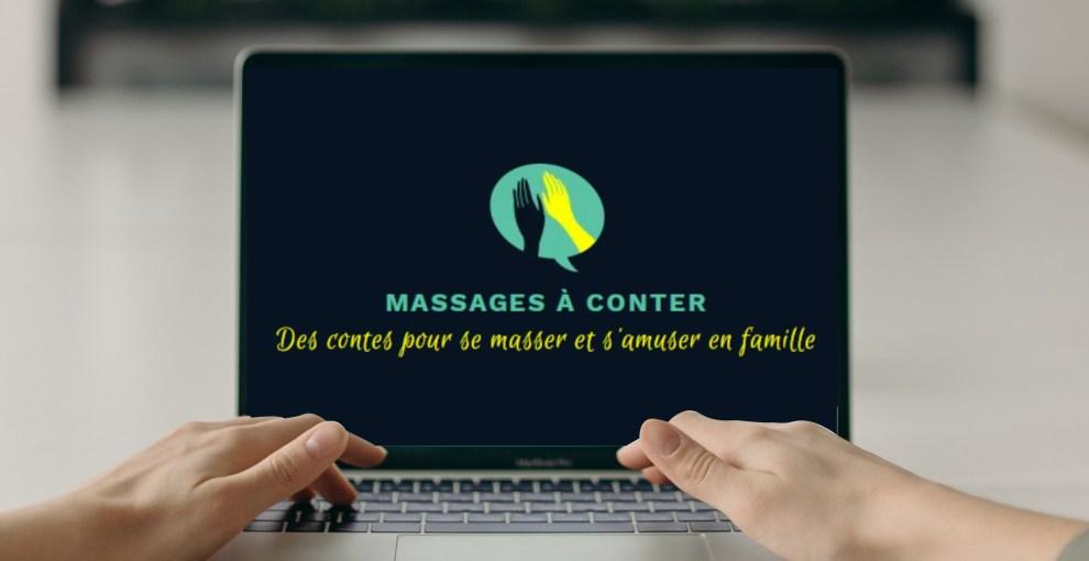 Site internet des Massages à conter
