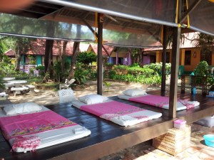 Thai Massage on Floor Mats