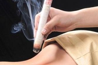 masajes calor moxibustión