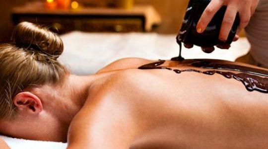 chocolaterapia masaje tarragona
