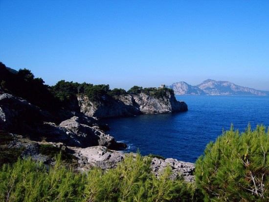 Capri e Punta San Lorenzo