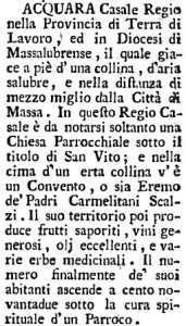 Dizionario geografico-istorico-fisico del regno di Napoli, composto dall'abate D. Francesco Sacco. 1795.