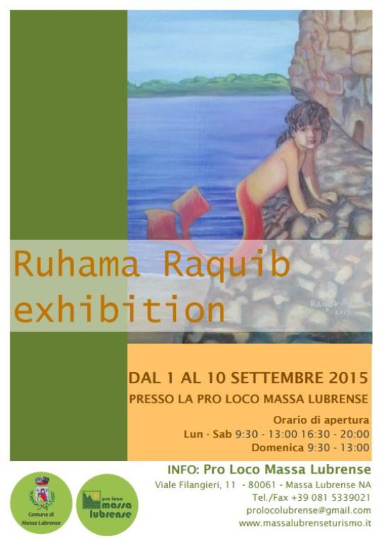 RUHAMA RAQUIB EXHIBITION