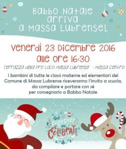 Babbo Natale 2016 Massa Lubrense