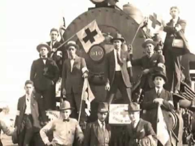 Trenes Hospitales en la Revolución Mexicana