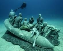 El Museo Atlántico de Lanzarote cautiva a los medios de comunicación del planeta