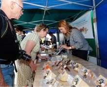 Teguise deleitó a los visitantes del Mercadillo con una muestra y degustación de quesos del municipio