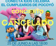 Zukoabega Producciones cancela el espectáculo Pocoyó y Conecta Kids en Lanzarote y Fuerteventura