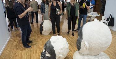 ArteSantander alaba el stand del Cabildo de Lanzarote y la obra de Rigoberto Camacho