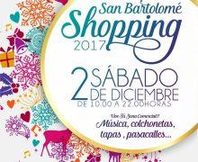 """San Bartolomé Shopping: """"Sonríe al comercio local"""", haz tus compras navideñas en los comercios de San Bartolomé el 2 de diciembre de 10.00 a 22.00 horas"""