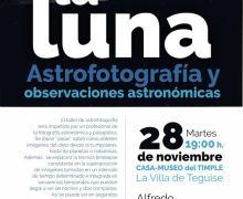 Teguise acoge una charla taller sobre Astrofotografía y observaciones astronómicas