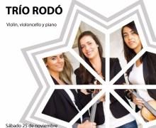 El Trío Gabriel Rodó actuará en la Casa de la Cultura el próximo 25 de noviembre