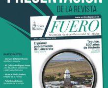 Teguise presenta el primer número de la revista Fuero sobre su historia y patrimonio