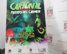 El Ayuntamiento de Tías presenta el cartel oficial de los carnavales de la principal zona turística de Lanzarote