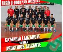 El Ca´Mario Lanzarote se mide el domingo al Agustinos Alicante